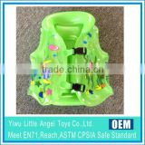 Multicolor Kids Promotional PVC Inflatable life jacket
