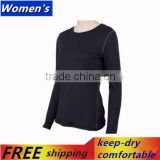 2015 New Womens Athletic Sport Shirt Training Long Sleeve T Shirt Racer Back Gy Tops Free Shipping 2019