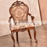 No Folded and Commercial Furniture General Use restaurant dining chairs with armrest
