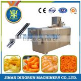 Jinan Dingrun extruded snack machine / Puffed Corn rice Snacks Food Extruder