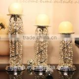 2015 Hot!! Wedding crystal Candelabra on Sale , tall crystal candelabra for you
