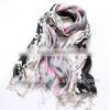 hot sale new arrival long polyester scarf