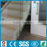 Factory price hot sale interior glass stair balustrade models
