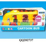Lovely baby B/O building block bus