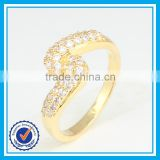 Hot sale artificial crystal gold afghan rings jewellery