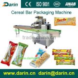 Snacks Pillow Packaging Machine for Cereal bar Snacks