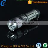 Beautiful Printing LED Flashlight Portable Rechargable Electronic Torch