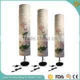 Chinese style Ink Lutos Fabric Floor Standing Lava Lamp                                                                         Quality Choice