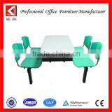 Marble top stainless steel metal dining table base restaurant dining table for sale