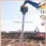 High Quality Vibratory Pile Driver Machine Hydraulic Vibratory Post Driver For Excavator