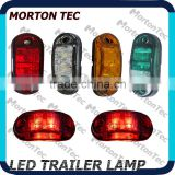 2.5*1 inch LED Side Marker &Clearance Lamp for truck /trailer SAE & ECE Approval