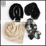 2015 New design fashion Lady Faux Fur Snood