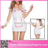 Hot-selling women's game uniforms Sexy 3pcs Nurse costume