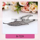 Hot-Selling high quality low price leopard hair accessories,bobby pin hair clip,hair crafts