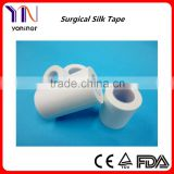 Medical Acretate Cloth Adhesive Silk Plaster White Tape CE FDA Certificated Manufacturers