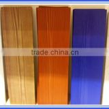 Waterproof Painted Exterior Wooden Grain Fiber Cement Board