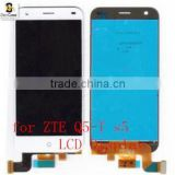 ZTE Q5-T Brand New LCD Display+Touch screen Glass Panel For Blade S6 5.0 inch Octa core Smartphone White Free shipping in stock