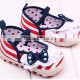 rubber sole baby prewalker shoes baby canvas shoes