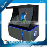 Hot! 17 inch 3d hologram projection advertising player,showcase, pyramid,display with low price on sale.