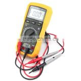 Digital Voltmeter Ampmeter Multimeter AC DC Meter OHM's Resistance with capacitance Tester Buzzer
