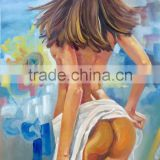 Best Price 100% Orginal Indian Nude Sexy Image Women Photos Art Painting