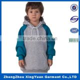 OEM hoodies popular stripe trim blank sports gym pullover hoodies wholesale hoody for boys
