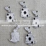 Factory Wholesale 15*26mm Animal Shaped Kangaroo Bead Pendent For Necklace / Bracelet Making