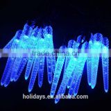 Christmas Decoration 30LED Blue Color Icicle Shaped Solar String light
