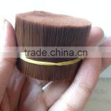 100% PBT Tapered Cosmetic Brush Filament makeup brush fiber brush hair