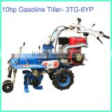 13hp Gas Electric Hand Tractor/Cultivator/Power Tiller