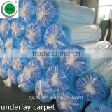 3mm EVA Underlayment hdpe film waterproof soundproof carpet underlay epe/xpe foam carpet underlay