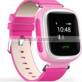 1.22 inch color display baby smart watch anti-lost WIFI SOS wrist watch gps tracking device for kids with touch screen