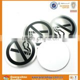 stainless steel street sign plate/no smoking sign plate