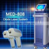 2015 hot sale facial tool beauty equipment diode laser hair removal micro channel