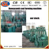 honeycomb shape coal powder briquette press machine