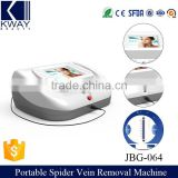 Professional 30MHZ high frequency blood vessel removal skin tag / spot varicose veins laser treatment beauty machine