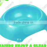 Big pearl-lustre egg-shaped Pet Bowl P655: