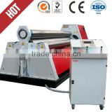 harsle brand for sale from manufacturer W11 rolling form machine with three rollers