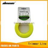 High Quality Garden Tool Parts Brush Cutter Grass Cutter Parts 2.0mm*15mm Square Nylon Trimmer Line