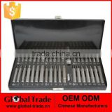 "40PC 1/2"" 3/8""DR Bit Socket Set Chromium-vanadium steel Material with BMC Case .T0078"