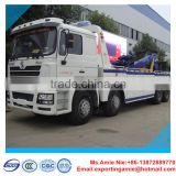 China brand new 20 ton shacman 8x4 tow truck wheel lift