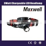 3watt Chargeable LED Headlamp