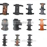 PU And Cowhide Archery Hunting Safe Arm Guards With 2 ,3 and 4 Straps
