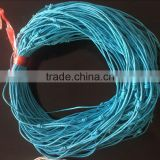 custom blue knotted wax cord necklace diy knot wax cord necklace with adjusted size for jewelry accessories 2017