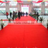 Red Wedding Carpet Party Decoration Exhibition/ Festive / Wedding Event Carpet Disposable Carpet
