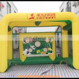 Inflatable football training goal, inflatable kicking football goal, inflatable football shoot goal