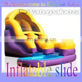 18H feet Rapid water slide with double lanes