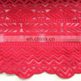 Water Soluble Mesh Fabric Lace for women's fashion garment