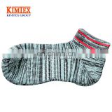 Wholesale sport fashion daily men jacquard cotton socks