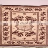 Royal king elephant bed sheet hippe tapestry bedspreads wholesale indian Tapestry